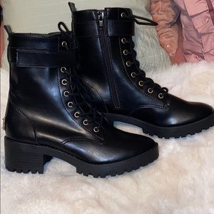 NWT!! Hot!! Juicy Couture Combat Boots!!